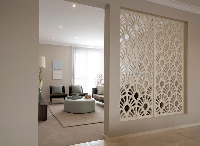 Краще рішення декорувати кімнату за допомогою перегородки, яка оптимізує простір будинку.