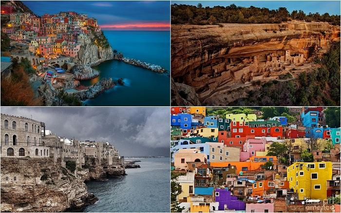Потрясающие города и деревни на скалах, которые завораживают с первого взгляда.