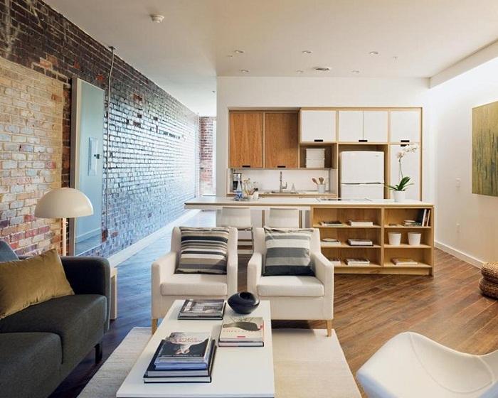 Визуально компактный дизайн небольшой гостиной превосходство в этом ограниченном жилищном пространстве.