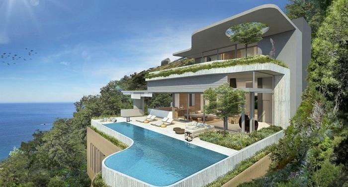 Проект расположен в Кейптауне, Южная Африка, с захватывающим видом на океан и горы. Открытая конструкция обеспечивает максимальную связь с окружающим ландшафтом.