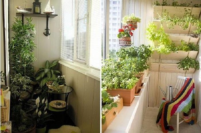 Как изменить интерьер балкона.