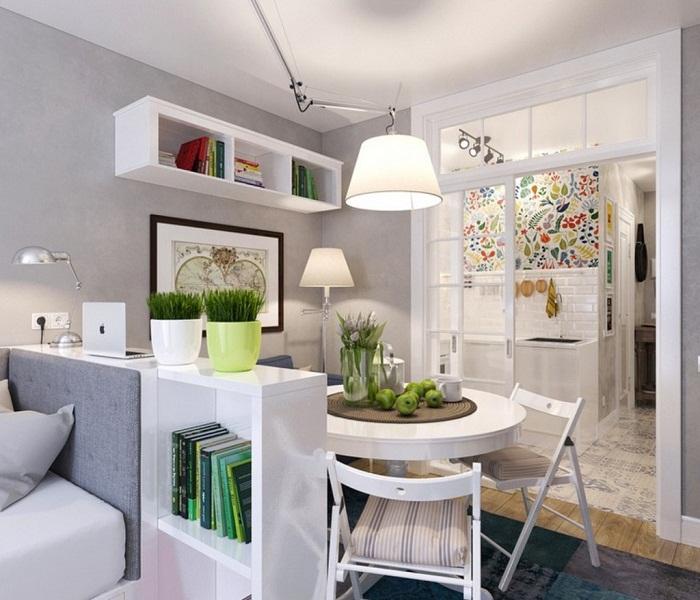 Быстрое и удачное преображение мини-кухни, что оптимизирует любое пространство.