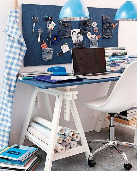 Крутое решение для создания интересной обстановки при помощи оптимизации рабочего пространства дома.