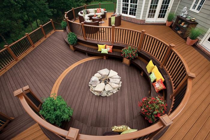 Очень элегантная и уютная веранда, которая станет просто отличным вариантом для оформления дома.
