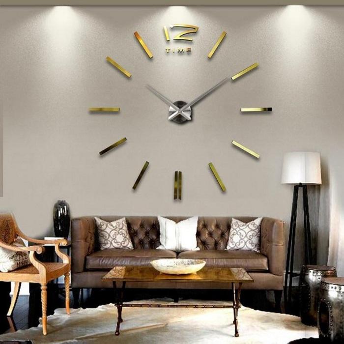 Простые, но очень интересные часы, которые определенно понравятся.