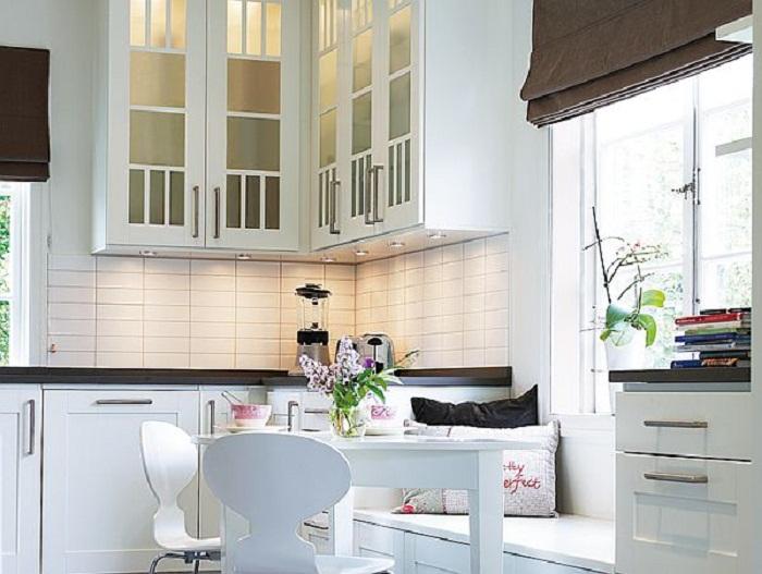 Преображения угла кухни, что станет просто отменным дополнением к любому интерьеру кухни.