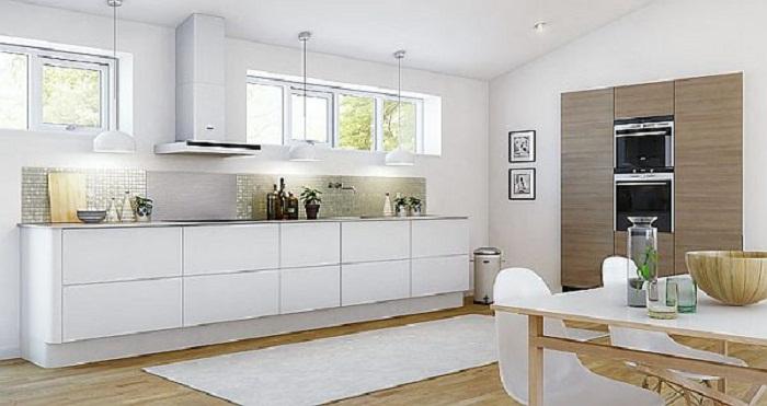 Отличное решение для декорирования кухни в светлых тонах, что точно понравится и очарует.