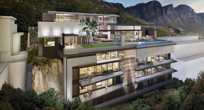 Nettleton 16 - это еще одна резиденция, расположенная в Кейптауне, Южная Африка.