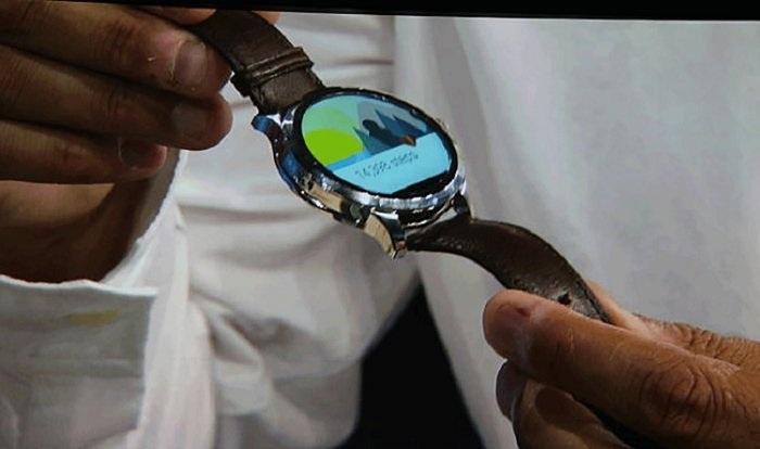 Привлекательный интерфейс часов нового поколения.