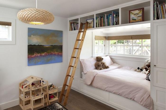 Экологичное решение для современной спальни.