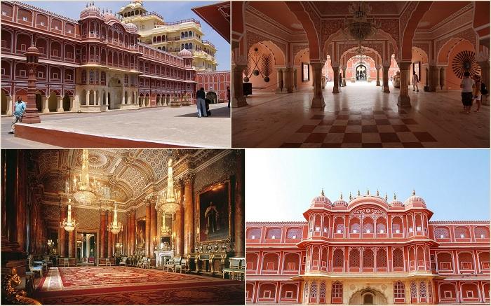 Городской дворец Джайпура представляет собой удивительный дворцовый комплекс в одном из самых старых кварталов города Пинк Сити, в этом комплексе гармонично соединилась очаровательная архитектура Раджастана с могольским и европейским стилями.