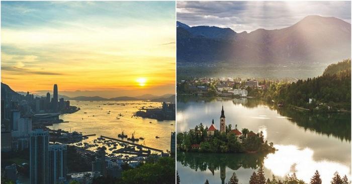 Страны, которые необходимо посетить чтобы стать чуточку счастливее.