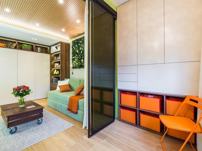 Улучшить интерьер возможно с помощью правильной организации пространства дома с помощью удачного разделения комнат.