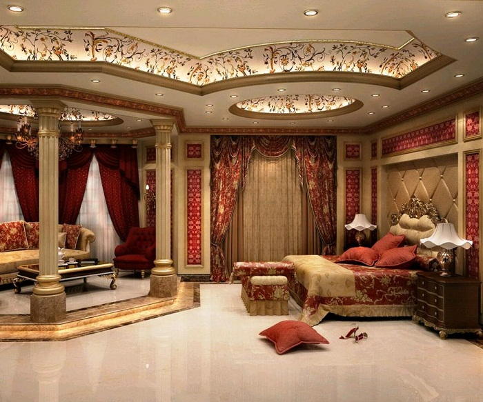 Что может быть еще лучше просто отличного и оригинального потолка в аристократическом стиле.