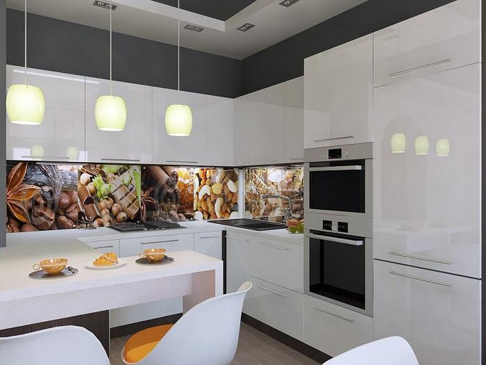 Оптимально обустроенный интерьер кухни, который станет находкой для дома.