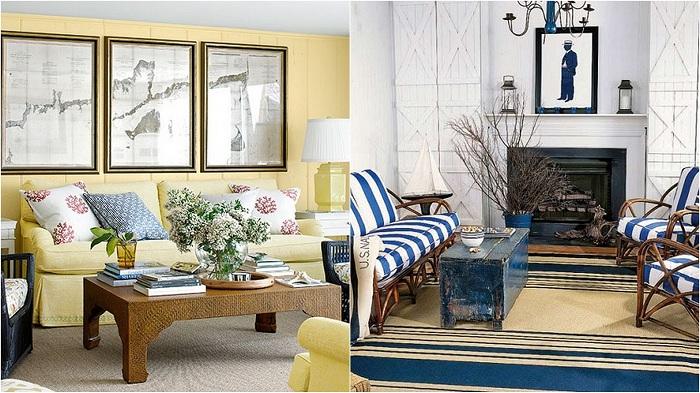 Идеи для оформления интерьера гостиной.