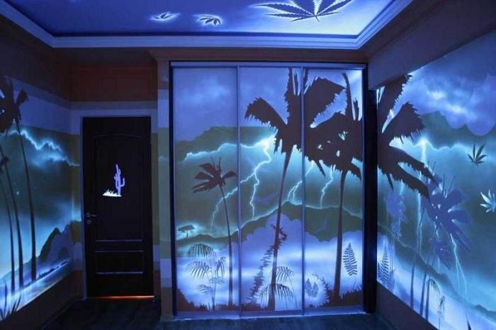 Прекрасный пейзаж украсит стены любой комнаты своими солнечными нотами.