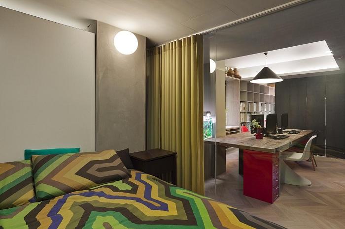 Поліпшити інтер'єр будинку можливо завдяки зонуванню простору, що швидко перетворить обстановку.