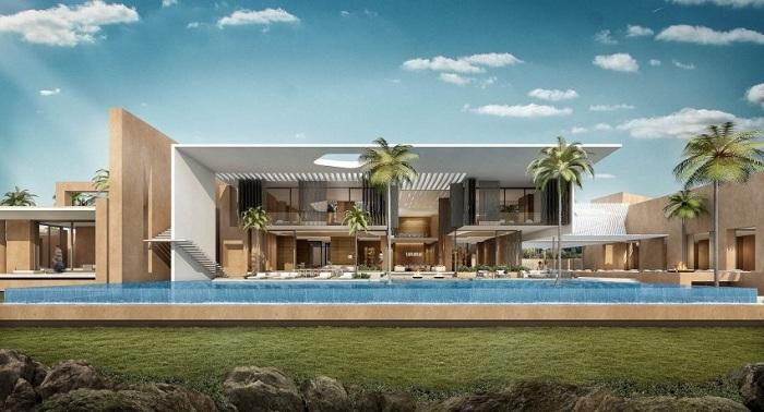 Этот современный дом расположен на берегу реки Нигер на окраине Ниамея. Дизайн  Студия SAOTA.