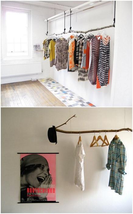 Интересные вешалки для одежды, которые дополнят интерьер и сделают его еще более комфортным.