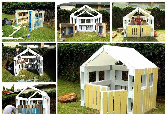 Отличный дом для деток, который прост и прекрасен одновременно.