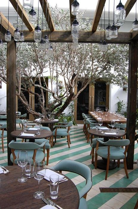 Невероятный дизайн ресторана Cecconi, Майами.