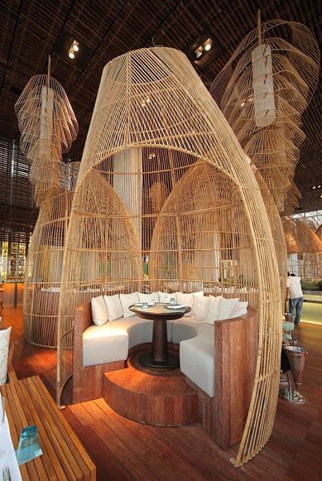 Ресторан на Бали.
