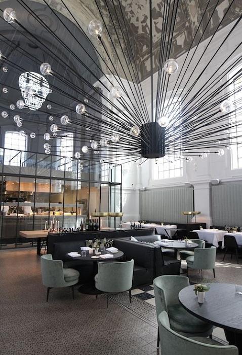 Ресторан Джейн в Антверпен, Бельгия.