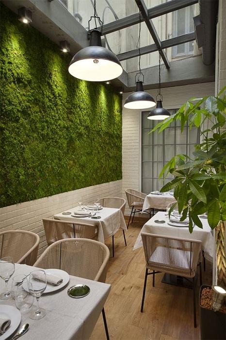 Ресторан Edulis, Мадрид.