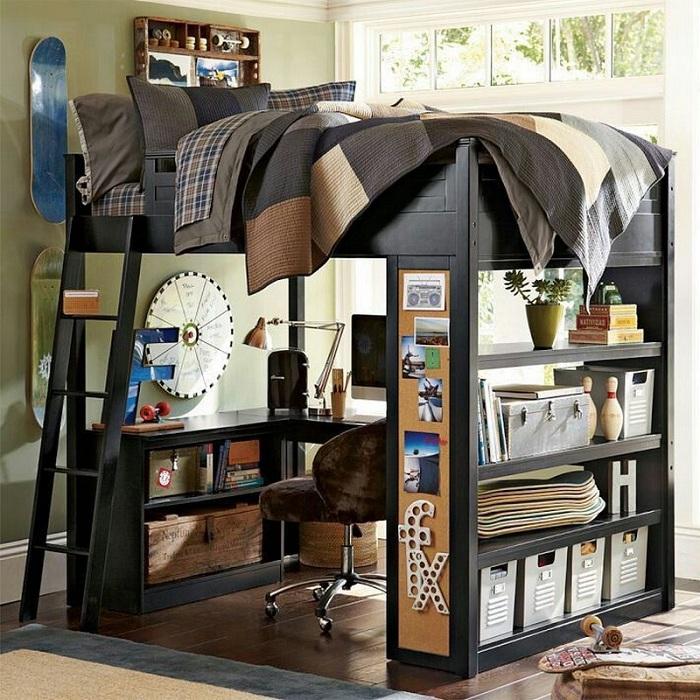 Дизайнерские решения для оформления комнаты с отменным и легким настроением.