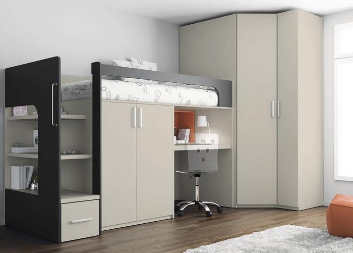 Отменное оформление комнаты с маленькой площадью, что выглядит привлекательно и размеренно.