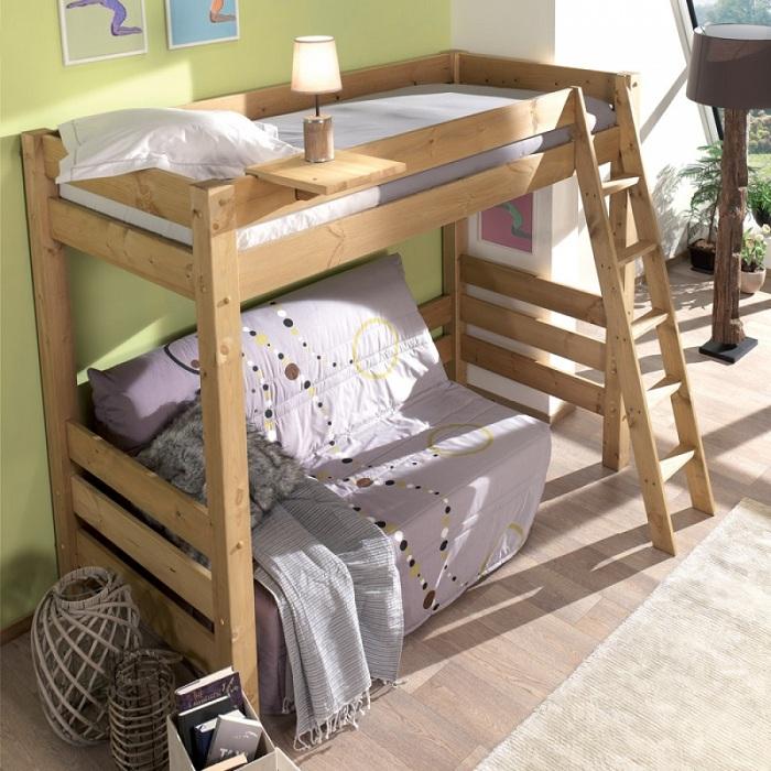 Оригинальный декор небольшой спальни, что позволит преобразить любую комнату.