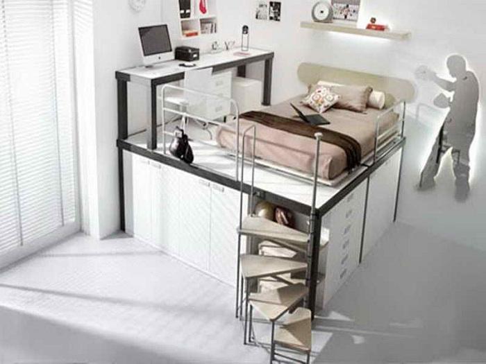 Отличное решение преобразить комнату с маленькой полезной площадью что вдохновит.