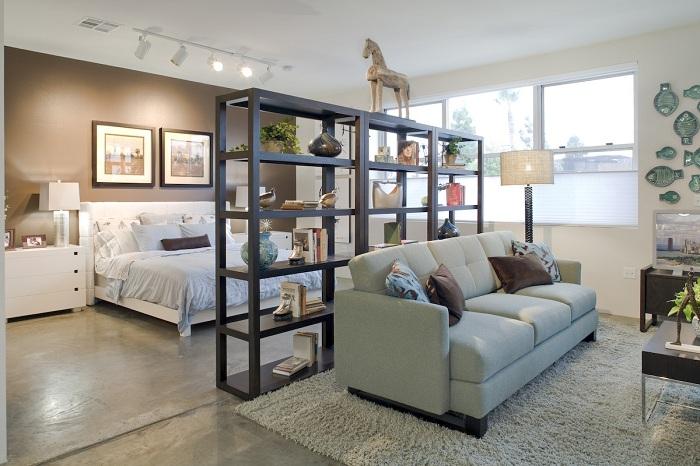 Удачная трансформация пространства и максимальный комфорт в интерьере.