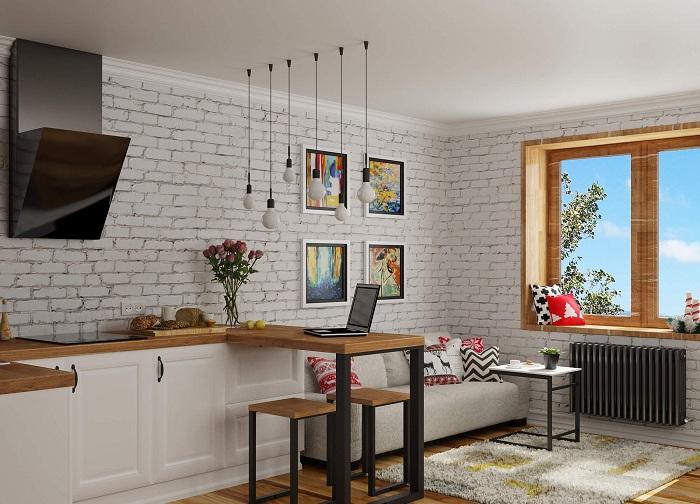 Лучшее решение быстро обустроить маленькую квартиру.