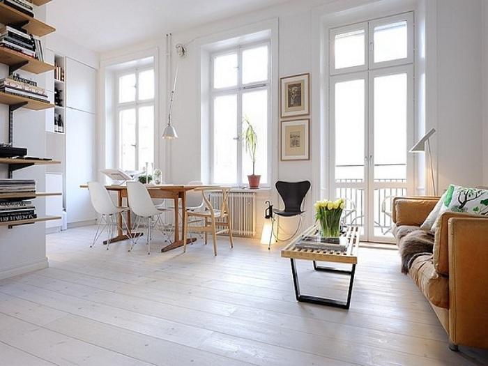 Быстрое и удачное преображение крохотной комнаты.