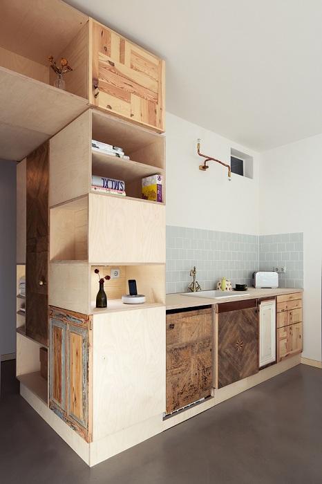 Непростые и нестандартные полки, которые смогут интересным образом преобразить интерьер комнат.