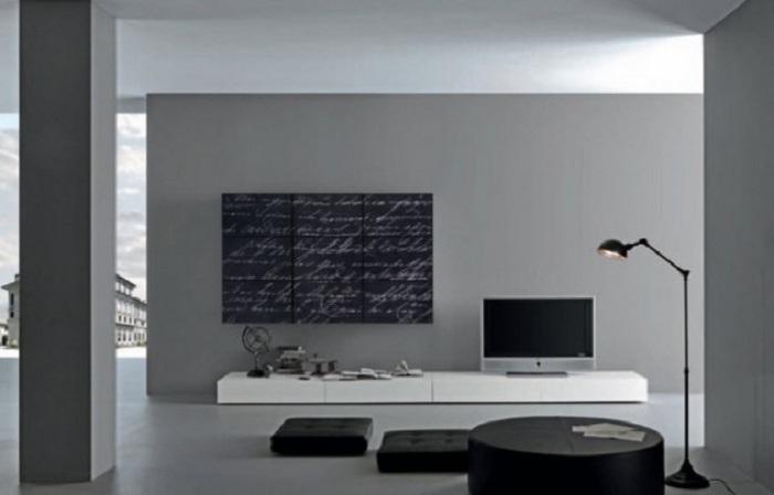 Утонченность прямых линий интерьера показывает все прелести такого дизайна.