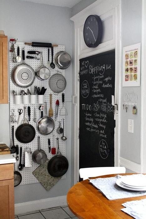 Рациональное использование полезной площади кухни.
