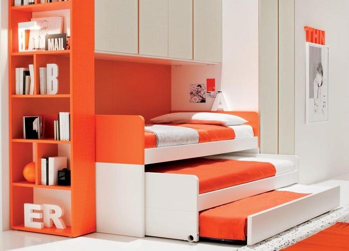 Когда детей трое, такая кровать может стать настоящей находкой.