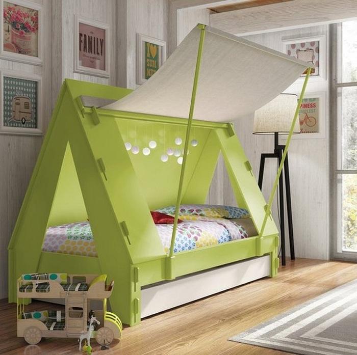 Кровать-палатка для маленького  мечтателя.