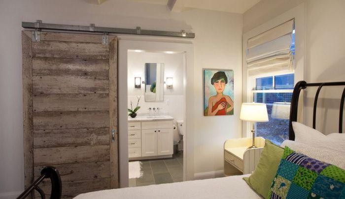 Раздвижные двери позволят сэкономить полезную площадь и создадут максимально комфортную обстановку и чувство спокойствия.