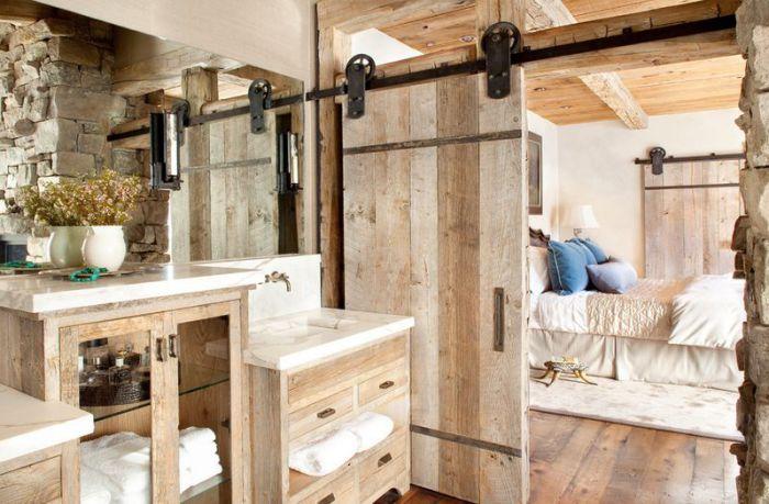 Симпатичный и удачный интерьер в деревянном оформлении станет просто максимально удачным при декорировании любой из комнат в доме.