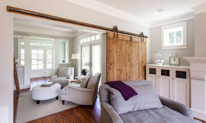 Межкомнатные раздвижные двери помогут порой расширить пространство и создать интересную просторную площадь.