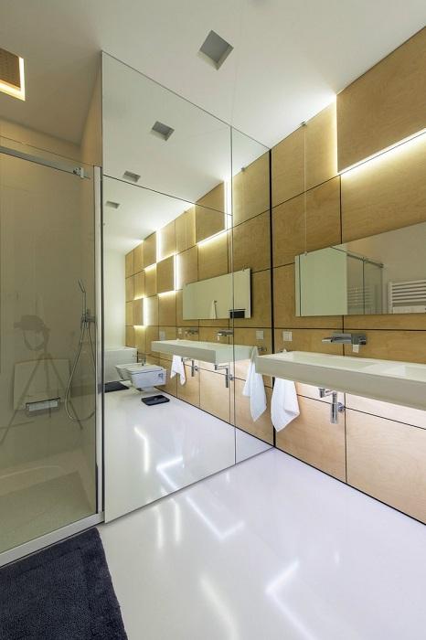 Багато що залежить від правильного освітлення у ванній кімнаті, саме це дозволить створити особливий інтер'єр.