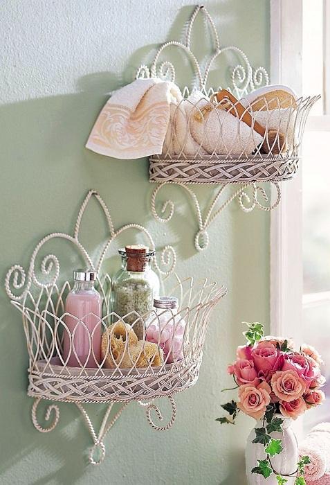 Пастельные тона, которые подчеркивают красоту декора.