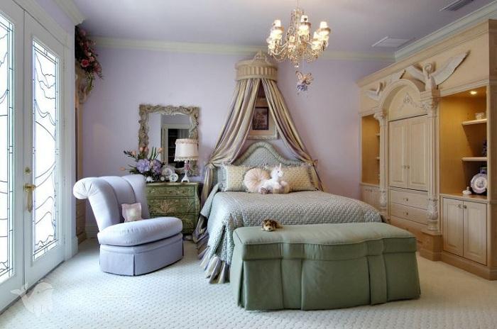 Спальня в светлых тонах: правила уютного и нежного дизайна на 90 фото | 464x700