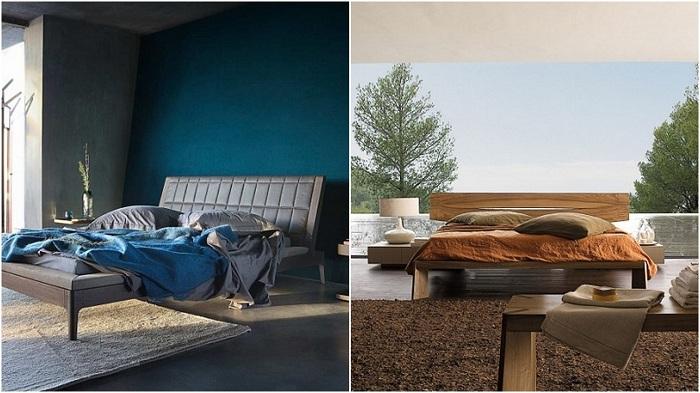 Очаровательный дизайн спален от компании Roche Bobois.