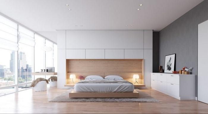 Быстрое преображение интерьера комнаты для сна, что однозначно впечатлит.