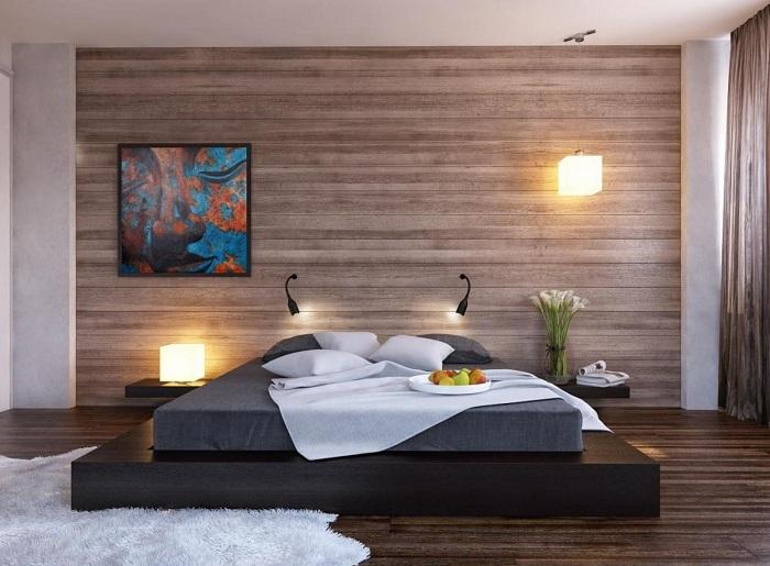 Лучшее решение создать прекрасный декор в спальной, что очарует.